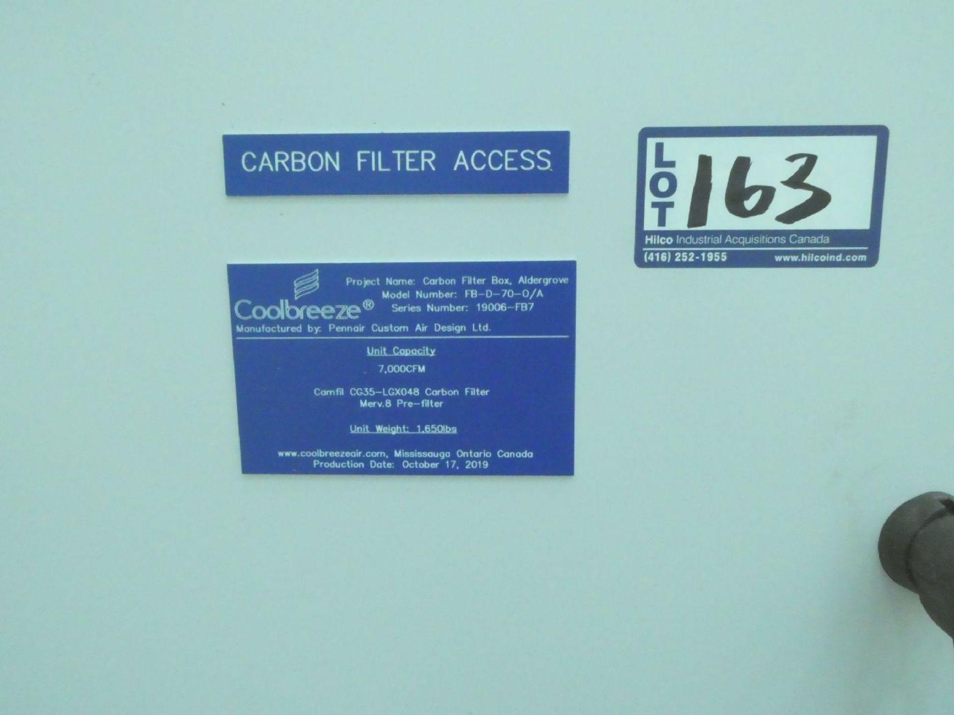 Pennair FB-D-70-O/A Coolbreeze 7,000CFM Carbon Filter Box - Image 2 of 2