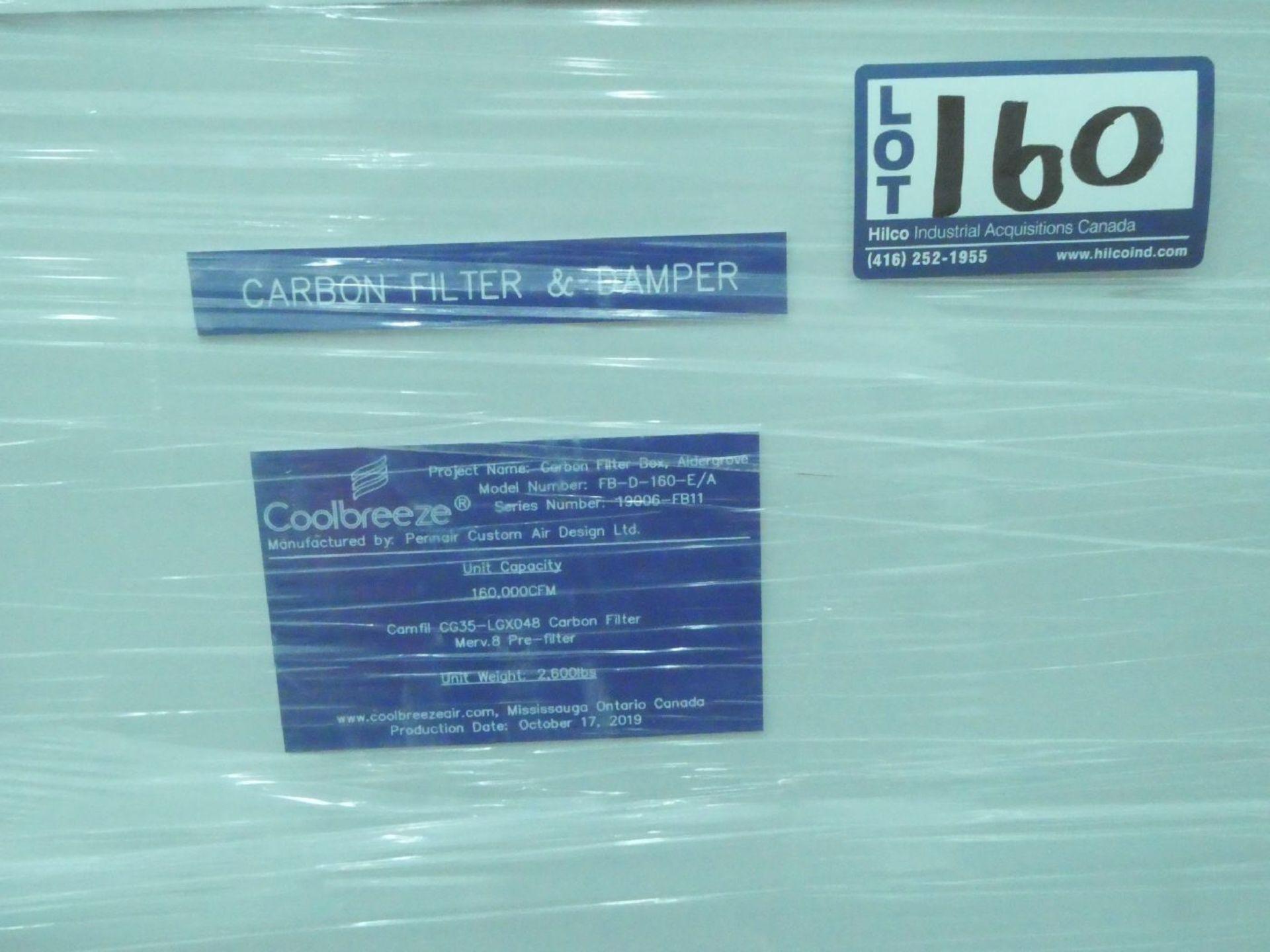 Pennair FB-D-160-E/A Coolbreeze 160,000CFM Carbon Filter Box - Image 3 of 3
