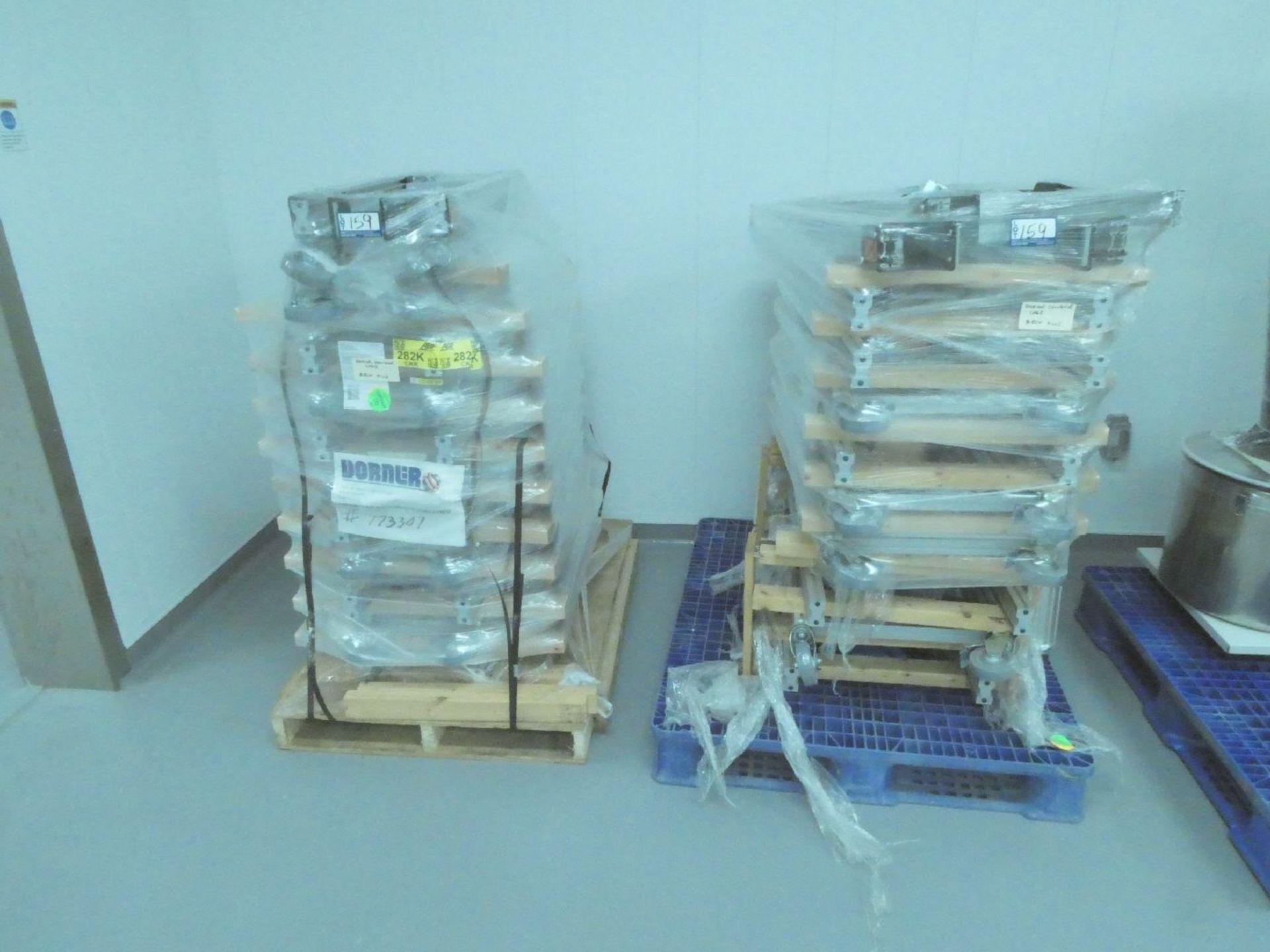Pallets of Dorner Conveyor Legs