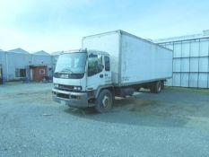 GMC T8500 Single Axle Box Truck