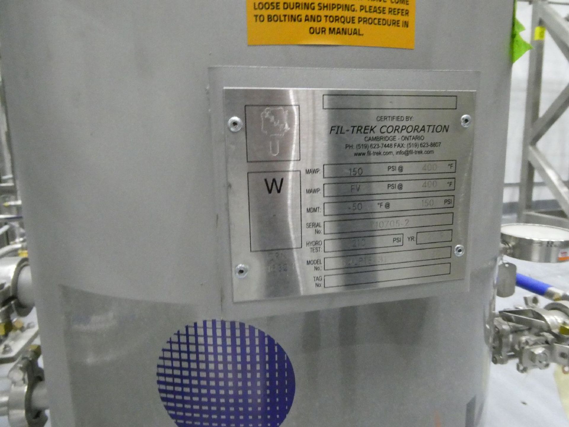 ROTAX Closed Loop Solvent Based Continuous Oil Extraction System - Image 17 of 68