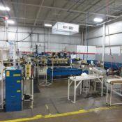 Proof Load Tester, Multi Head Press, 2 Plastic End Fitting Machine