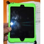 iPad w/Hand-Hold Case ***Battery wasn't charged enough to check functionality***