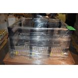 One Section of Expandable Roller Conveyor, Metal Legs w/ Casters on One Skid