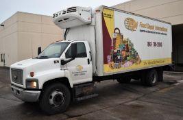2007 Chevrolet C7500 22Ft. S/A Reefer truck Vin: 1GBJ7C13X7F402243 (2007) Isuzu 200-HP 6HK1-TC 7.8L
