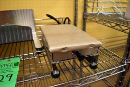 """Lot c/o: 6"""" x 9"""" Bench-Top Electric Heater & Assorted S/S Bench-Top Parts (est.)"""