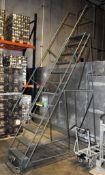 Gillis 12-Step Portable Stock Ladder