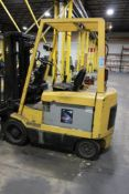Hyster 5,850-LBS. Capacity Model E60XM-33 Electric Forklift Truck