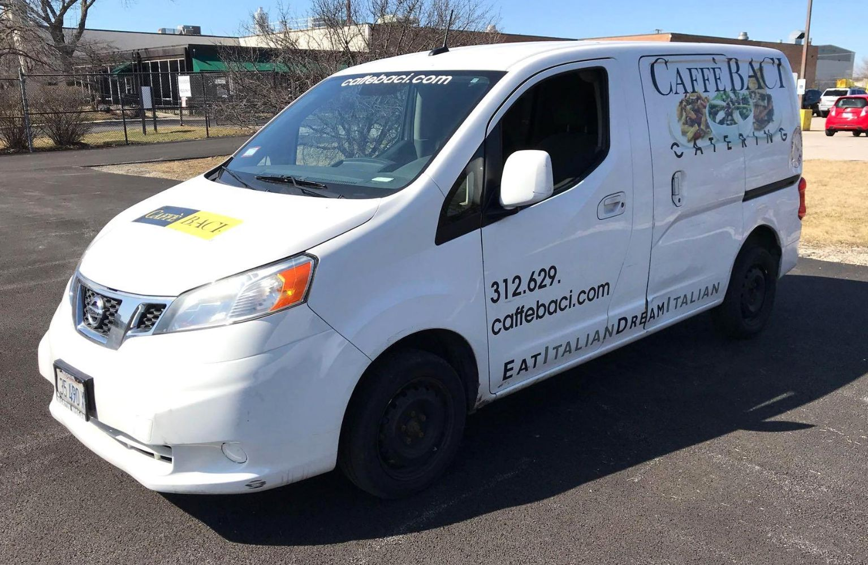 Caffe Baci Auction 2013 Nissan NV200 4-Door Cargo Delivery Van, 2015 Chevrolet 2500 Express 3-Door Cargo Delivery Van