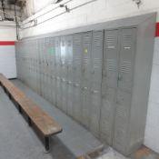 80 Door Locker Unit with Benches