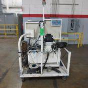 Button Machine, Hydraulic Pump unit and Stand