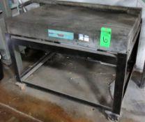 """Standridge 4' X 3' X 6"""" Tick Granite Surface Plate"""