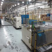 Strand Extrusion Extruder #8 line (PLEASE NOTE;AJAX TOCCO HEAT POWER UNIT/COOLING SYSTEM/INDUCTION H