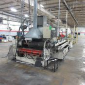 Line Extrusion Extruder #1 Davis Extruder With W Berg Mdl PA-5-X Chiller, Metaplast Mdl. PB40LL Unit
