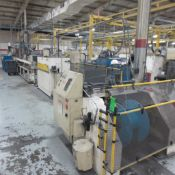 Strand Extrusion Extruder #9 Daves Extruder 2.5, 1989, K-9341 With Thoreson TD150 Dryer, Con Air EP2