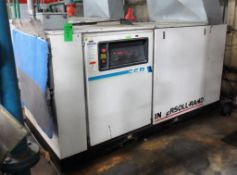 Ingersoll-Rand Model SSR-EP100, 125 PSI Air Compressor, 446 CFM, 100 HP Motor, 460 V, 3 PH S/N F1424