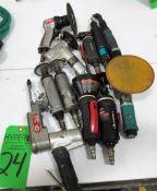 Assortment of Pneumatic Tools.**Lot Located at 2395 Dakota Drive, Grafton, WI 53024**