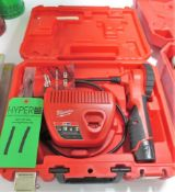 Milwaukee 12V M Spector 360 Rotating Inspection Scope with Case and Charger.**Lot Located at 2395 Da