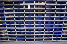 """Approx 230 14""""X15""""X7"""" stack bins ( no contents)"""
