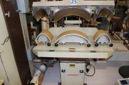 Unipress model LSTH collar-cuff steam station s/n L9340041