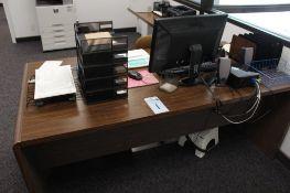 Office equipment includes desk, chair,Dell computer,hp printer model LaserjetnP1102W & Canon Faxphon