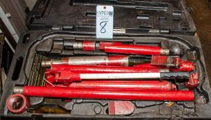 Hydraulic Ram Kit w/ Case, See Photos