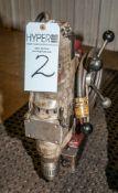 Milwaukee Mag Drill s/n 504B602210037