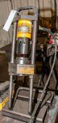 Parker Carry Crimp Hydraulic Hose Crimper Mdl. 82C-080 On Cart