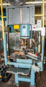 OrbitForm Radial Riveting Machine Mdl. B500 s/n 9506887H On Stand w/ Banner Light Curtain