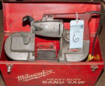 Milwaukee Portable Hand Saw In Case, Cat. 6230, s/n 006789337