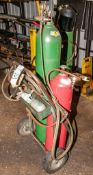 OKI Cylinder Truck CTR-10 w/ Regulators, Hose, Torch, Gas Cylinders NOT Included