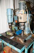 Bracker Radial RN 280 Radial Riveting Machine s/n 25433 & Taumel T500M-6105 s/n 500-90-238 Radial Ri