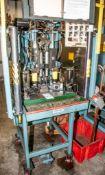 Dual Head Assembly Machine w/ Banner Light Curtain & (2) OrbitForm B500 s/n 9506887E w/ Banner Light