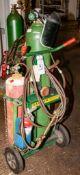 Harper Cylinder Truck w/ Regulators, Hose, Torch, Gas Cylinders NOT Included