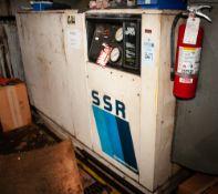 Ingersoll Rand SSR-EP100 Air Compressor, 100 hp, Bad Screw