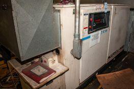 Ingersoll Rand 100hp Air Compressor Mdl. SSR-EP100, 446 CFM, 125 PSIG, 460v, 46260 Total Hrs. On Mez