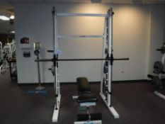 Promaxima Weight Bench with Outlaw Rack & Weights