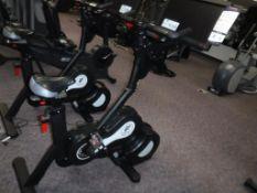 Lot c/o: (1) DiamondBack Preference HRT 1000R Exercise Bicycle Trainer S/N: J980920241-Q9, (1) Cybex