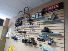 Lot c/o: Sample Room, Faucet & Janitorial Equipment Samples