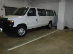 2014 Ford E-350 4-Door Passenger Van Vin# 1FBSS3BL6EDA27543, 5.4L Gas V-8, A/T, 12-Seats, 5,870.6-Mi