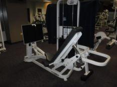 Cybex Seated Leg Press Station S/N: 460591S274238, Model 46059101NNN