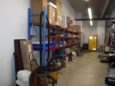 Lot c/o: Building Storage Room (NO AIR FILTERS OR REGISTERS) Contents to Include-Like New Lincon Wel