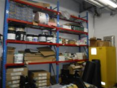 Lot c/o: Contents of Room - Not including Van Seats, ThoroMatic Floor Cleaning Maching, Pallet Racki
