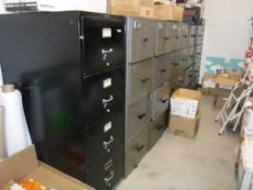 Lot c/o: Contents of Inventory Control Room- (NO PERSONAL ITEMS) (8) File Cabinets