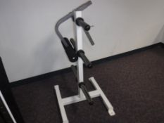 Lot c/o: Weight Benches, Weights, Bar Bells, (Weight Sets not complete)