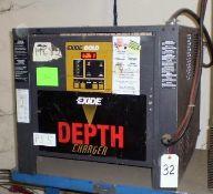 Exide Gold 24-Volt Model D3G-12-550 Electric Battery Charger