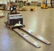 Crown 6,000-LBS. Capacity Model PE4000-60 Electric Walk Behind Pallet Jack