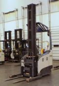 Crown 4,500-LBS. Capacity Model RM6025-45 Electric Narrow Aisle Forklift Truck