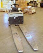 Crown 6,000-LBS. Capacity Model PE4500-60 Electric Walk Behind Pallet Jack