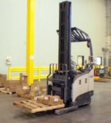 Crown 4,500-LBS. Capacity Model RM6025-45 Electric Stand Up Narrow Aisle Forklift Truck S/N: 1A45747